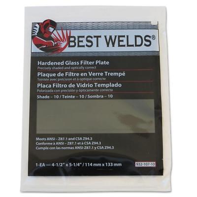"""2 Harris Shade 11 Welding Helmet Hood Glass Filter Plate Lens 2""""x4.25"""" 1024110"""