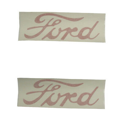 8n5052f Fender Decal Set Fits Ford 8n Tractor 8n5052