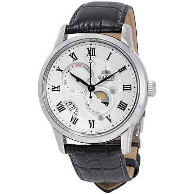 Orient Executive Sun and Moon 3 Automatic White Dial Men's Watch FAK00002S0