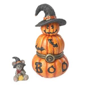 Boyds-Bears-TABITHAS-JACK-O-LANTERN-treasure-box-2014-Free-Ship-w-20-PURCHASE