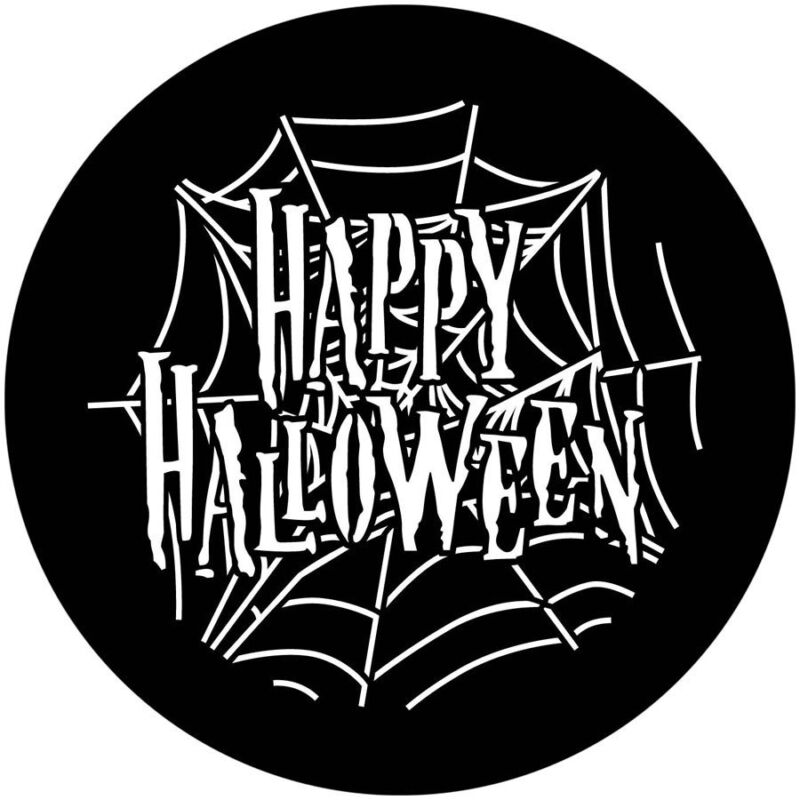Stock+Gobo+Glass+Size+E+37.5mm+Happy+Halloween+Party