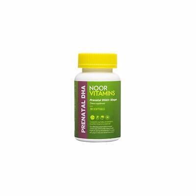 NoorVitamins Prenatal with DHA 30 Softgels Halal Certified Vitamins