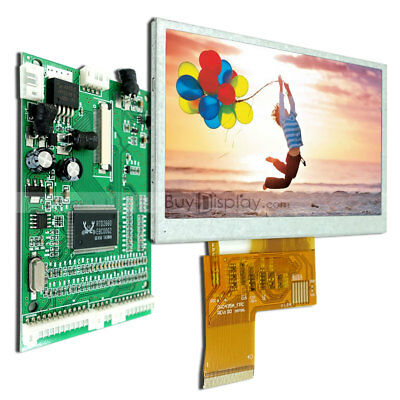 4 3tft Color Lcd Display Modulewvgaav Video Driving Boardoption Touch Panel