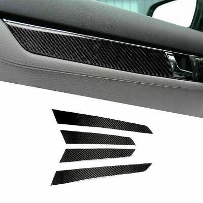 Carbon Fiber Interior Door Panel Cover For Mercedes-Benz C Class W204 2007-2013