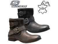 Ladies Boots Skechers Winter Warm Chelsea Boots UK7 BRAND NEW !