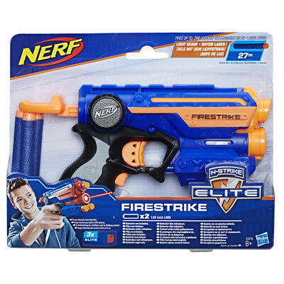 Nerf N-Strike Elite XD Firestrike Blaster With Light Beam - New Design!