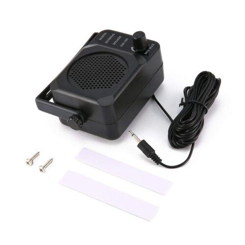 MINI EXTERNAL SPEAKER CB RADIO SH2P4 Mobile Police Scanner Ham extension A558