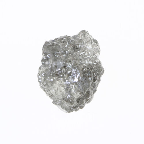 Dazzling White G Color 3.15 Carat SI1 Clarity Wonderful Natural Rough Diamond