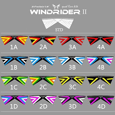 Windrider Ⅱ Quad Line Stunt Kite Powerkite for Beginner Kite Sports Fun Outdoor for sale  China