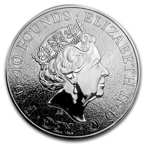 2017 Great Britain 10 oz Silver Queen's Beast The Lion - SKU #151890