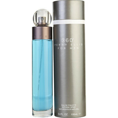 360 By Perry Ellis 3 4 Oz   100Ml Edt Cologne Spray  For Men New In Box  Perfume