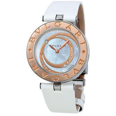 Bvlgari B.Zero1 Mother of Pearl Diamond Dial Ladies Watch 102021
