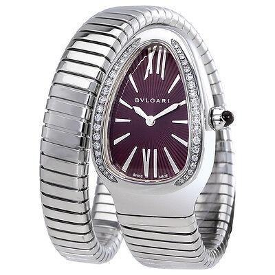 Bvlgari Serpenti Ladies Spiral Watch 102529