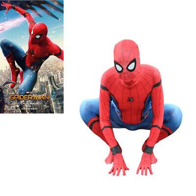 Spider-Man Homecoming Spiderman BodySuit Superhero Costume Halloween Cosplay](Superhero Bodysuit)