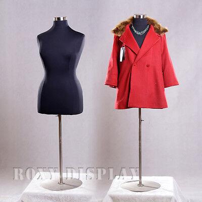 Female Size 14-16 Mannequin Manequin Manikin Dress Form F1416bkbs-04