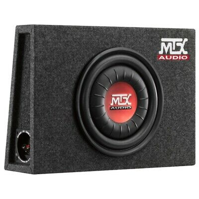 MTX 10 Inch 600 Watts Peak Amplifiied Active Car Subwoofer Box &...