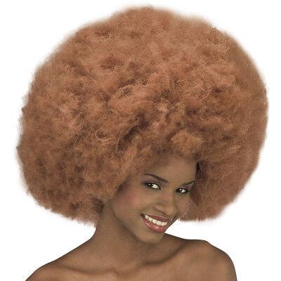 ROTBRAUNE MAXI AFRO LOOK PERÜCKE Fasching Karneval XL Afroperücke rot-braun 6112