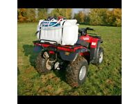 SEALEY SS98 BROADCAST/SPOT SPRAYER 98LTR 12V