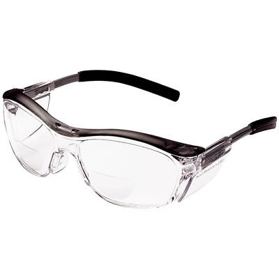 3m Nuvo Reader Safety Glasses With Clear Bifocal Lens