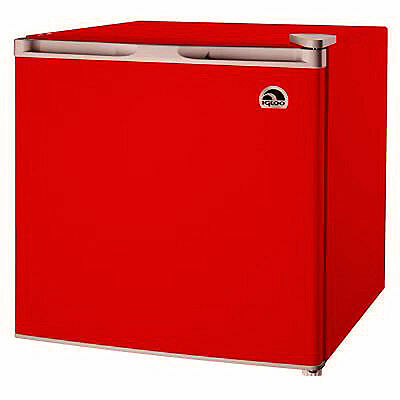 Igloo 1.7 Cu Ft Compact Mini Fridge / Refrigerator, Red - FR115I