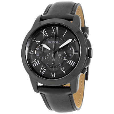 - Fossil Grant Chronograph Black Dial Men's Watch FS5132