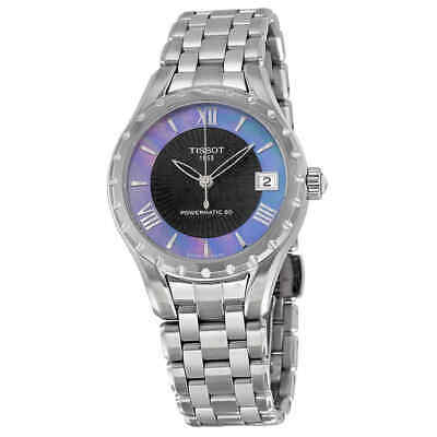 Tissot Couturier Automatic Black Dial Ladies Watch T0722071112800