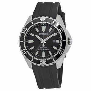 Citizen Promaster Diver Black Dial Mens Quartz Watch BN0190-07E