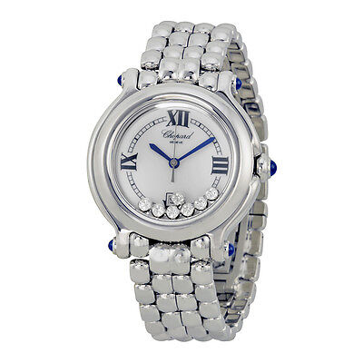 Chopard Happy Sport Diamond Steel Ladies Watch 278236-3005
