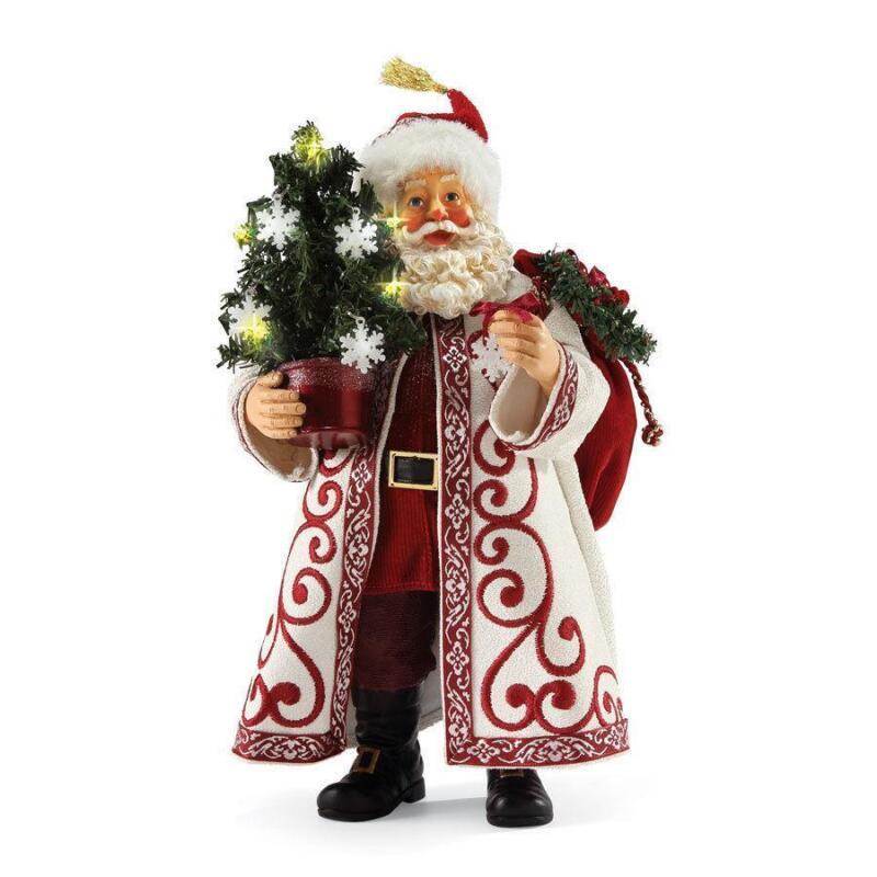 Resin santa figurine ebay