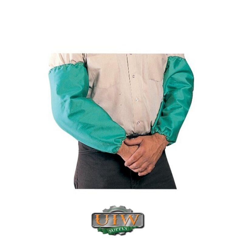 "Welding Sleeves - GREEN 18"" Tillman 6218 Elastic Both Ends PAIR"