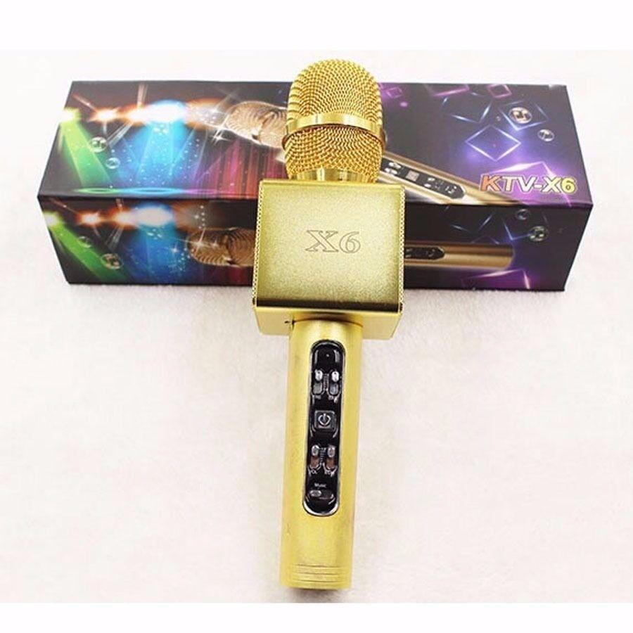 Wireless Karaoke Microphone Mic Bluetooth Speaker