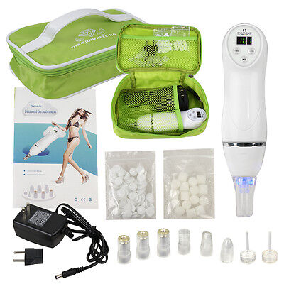 جهاز تقشير الجلد جديد Diamond Dermabrasion Microdermabrasion Vacuum Peeling Skin Facial Beauty Machine