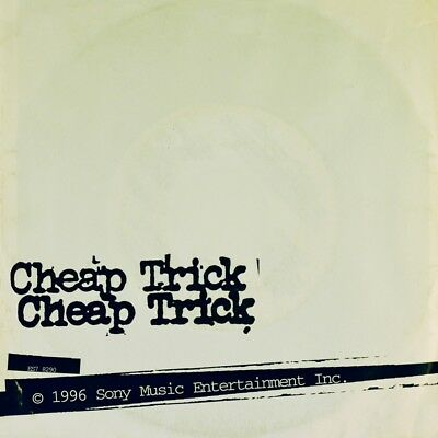 """7"""" CHEAP TRICK I Want You To Want Me / Waitin' For The Man / Heroin EPIC 1996"""