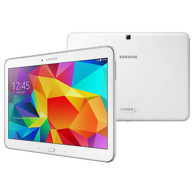 """Samsung Galaxy Tab 4 10.1 LTE SM-T535 10.1"""" 16 GB weiß WiFi 4G GPS Bluetooth 4.0 segunda mano  Embacar hacia Spain"""
