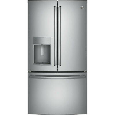 GE Profile 27.8-cu ft French Door Refrigerator with Ice Maker