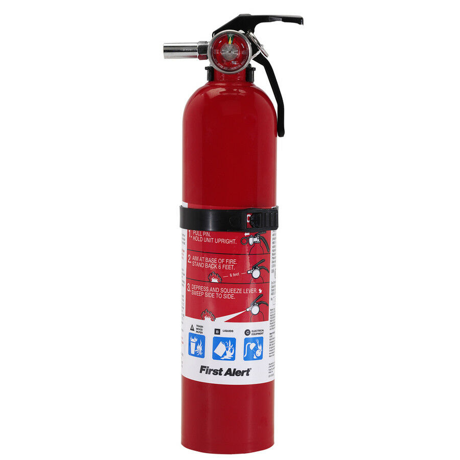 First Alert HOME 1-A:10-B:C 2.5 Pound Rechargeable Fire Exti