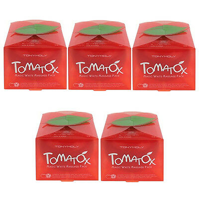 [TONYMOLY] Tomatox Magic Whitening Massage Pack 80g 5pcs / Korea Cosmetics