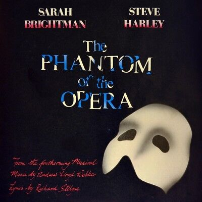"7"" SARAH BRIGHTMAN & STEVE HARLEY Phantom Of The Opera ANDREW LLOYD WEBBER 1986"