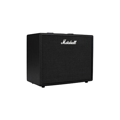 Marshall Code 50 Fully Programmable 50W 1x12 Guitar Combo Amp  - Black, New!