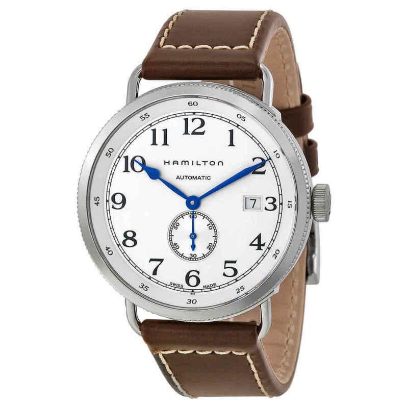 Hamilton-Navy-Pioneer-Automatic-Silver-Dial-Men-Watch-H78465553