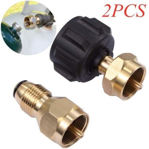 Brass 1 Pack Propane Refill Adapter Lp Gas Cylinder Tank Coupler Heater 1lb
