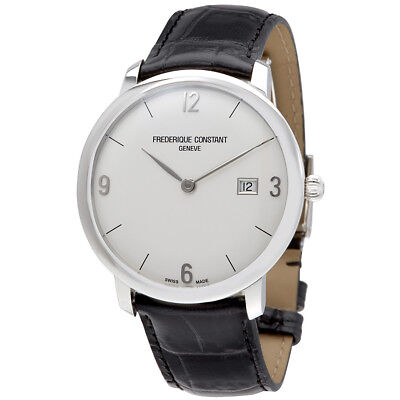 Frederique Constant Slimline Automatic Mens Leather Watch Fc 306A4s6