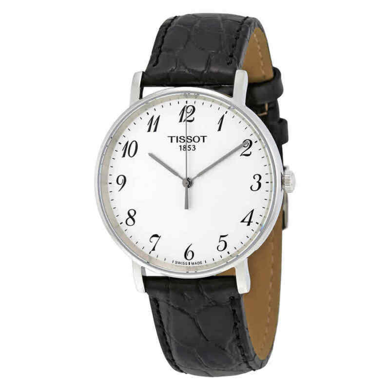Tissot T-Classic Everytime Leather Unisex Watch T1094101603200