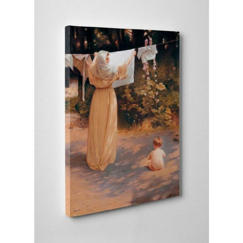 "10"" x 16"" Polish Madonna Gallery Wrapped Canvas"