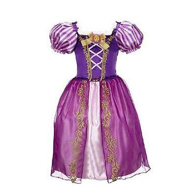 Long Hair Princess Rapunzel Girl Skirt Child Queen Party Costume Fancy Dress](Baby Queen Costume)