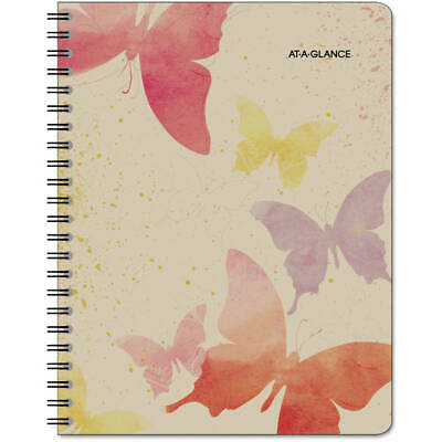 Recycled Watercolors Weeklymonthly Planner Design 8 12 X 11 2014