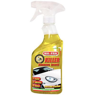 Killer Rimuovi moscerini e insetti Trattamento Auto MA FRA 500ml