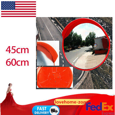1824outdoor Road Traffic Convex Pc Mirror Wide Angle Driveway Safety Security