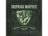 2 x Tickets for Dropkick Murphys - Alhambra - 27 June