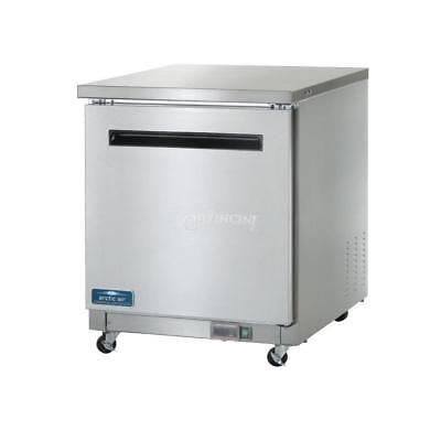 New Arctic Air Undercounter Refrigerator Reach-in Single Door - Auc27r